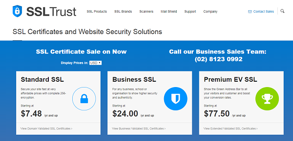 SSLTrust - SSL Certificates & Website Security Solutions
