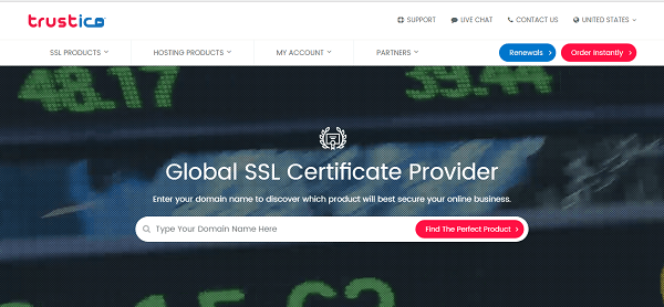 Trustico - Global Provider of SSL Certificate