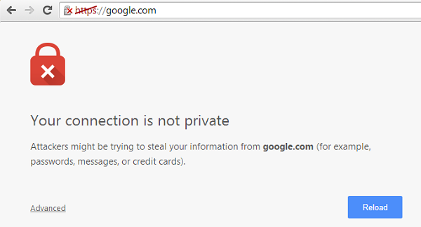 connection-is-not-private